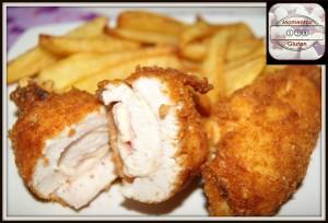 Pollo rebozado con crunchy crumbs
