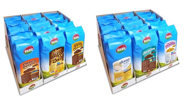 cajas de cereales esgir