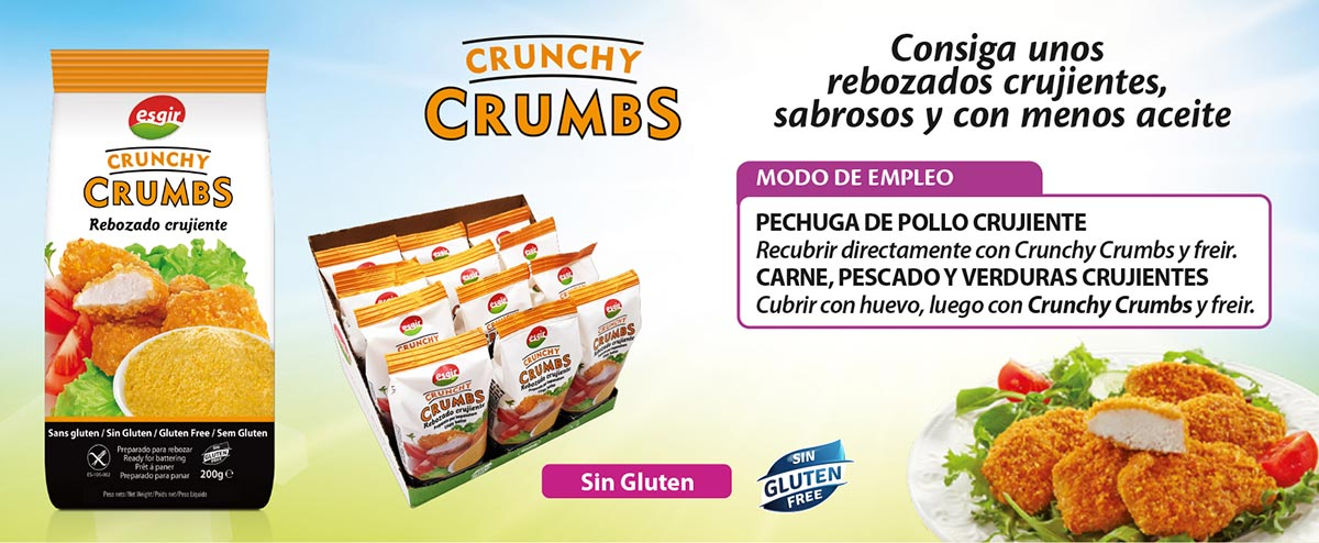 Rebozados Crunchy Crumbs