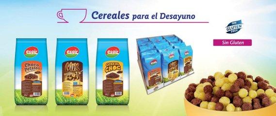 Cereales sin gluten para el desayuno