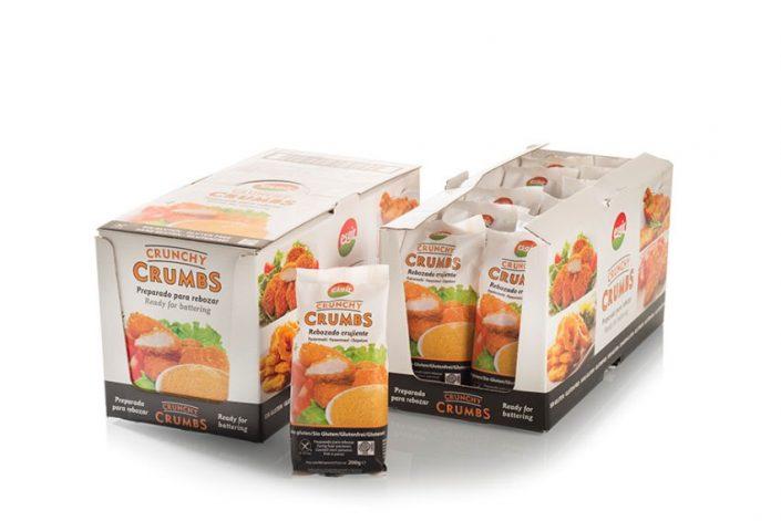 cajas rebozados crunchy crumbs