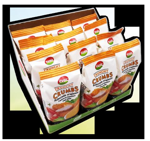 caja rebozado crunchy crumbs