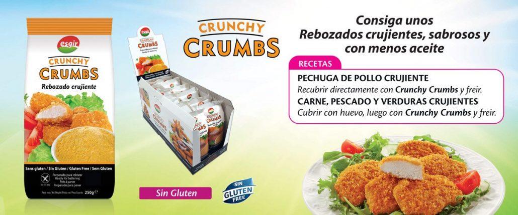 Rebozados perfectos con crunchy crumb esgir cereales for Cocinar quinoa hinchada