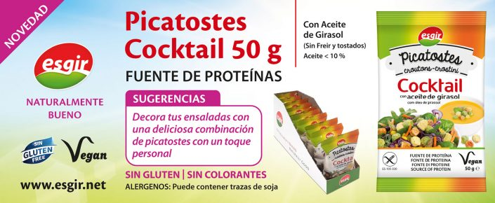 picatostes Cocktail esgir
