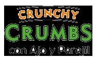 crunchy crumb ajo y perejil
