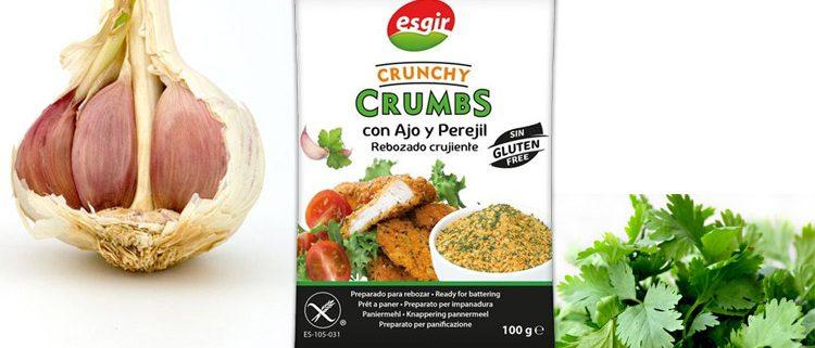 Rebozado ajo y perejil, Panko garlic and parsley