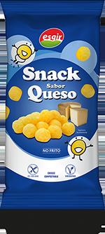 Snack sabor queso