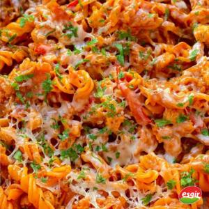 receta de espirales con boloñesa vegana