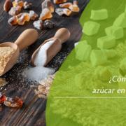 azúcar de varios tipos