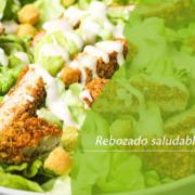 Rebozado saludable y sin gluten